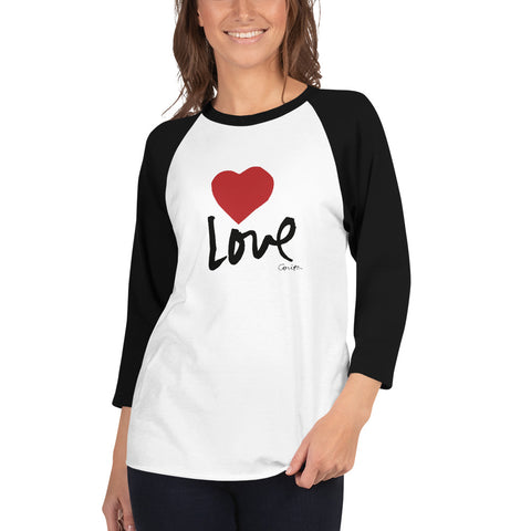 Love Women's 3/4 Sleeve