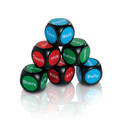 Body Adventure Erotic Dice Game for Couples