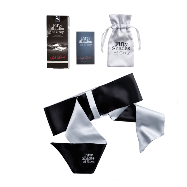 Fifty Shades of Grey Soft Limits Deluxe Wrist Tie - Peachy Keen  - 3