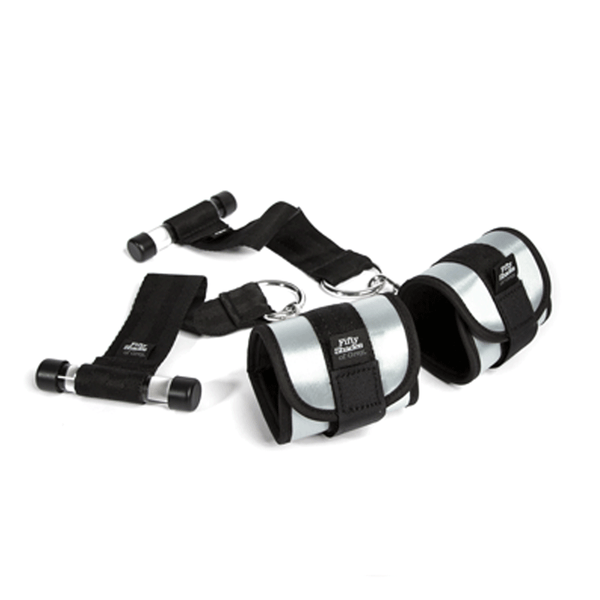 Fifty Shades of Grey Ultimate Control Handcuff Restraint Set - Peachy Keen  - 1