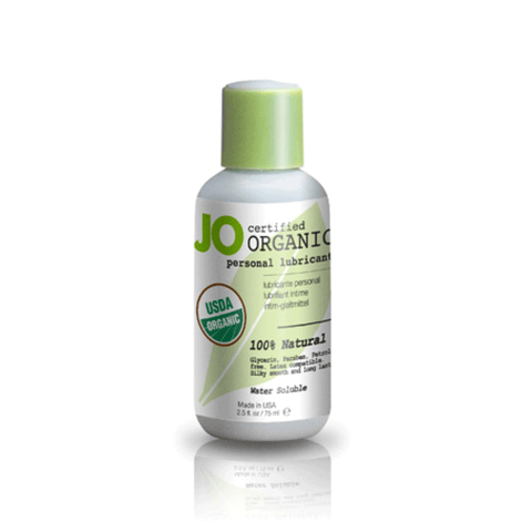 System JO Organic Water-Based Lubricant - Peachy Keen