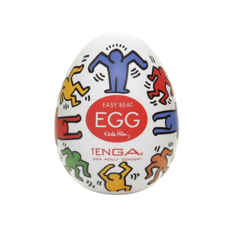 Tenga Keith Haring Dance Egg - Peachy Keen  - 1