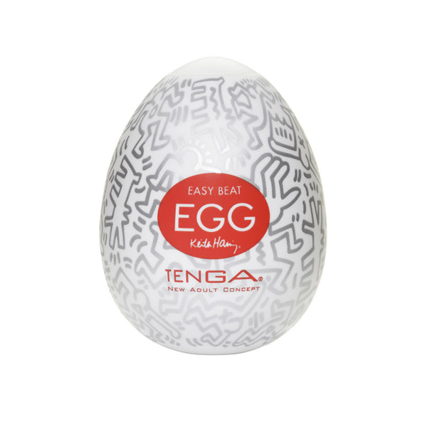 Tenga Keith Haring Party Egg - Peachy Keen  - 1