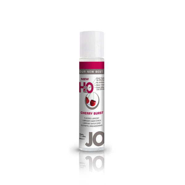System JO Cherry Burst H2O Water Based Lubricant - Peachy Keen  - 2
