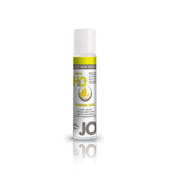 System JO Banana Lick H2O Water Based Lubricant - Peachy Keen  - 2