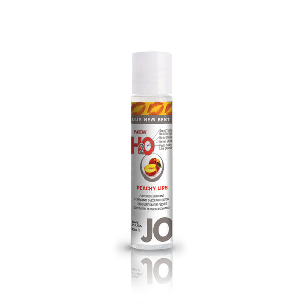 System JO H2O Peachy Lips Water Based Lubricant - Peachy Keen  - 2