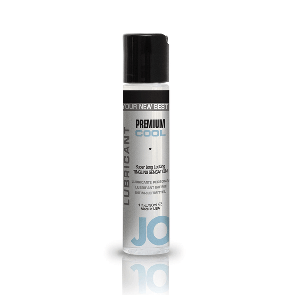 System JO Premium Silicone Cool Lubricant - Peachy Keen  - 2