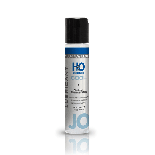 System JO H2O Cool Lubricant - Peachy Keen  - 2