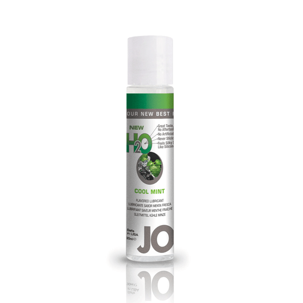 System JO Cool Mint H2O Water Based Lubricant - Peachy Keen  - 2