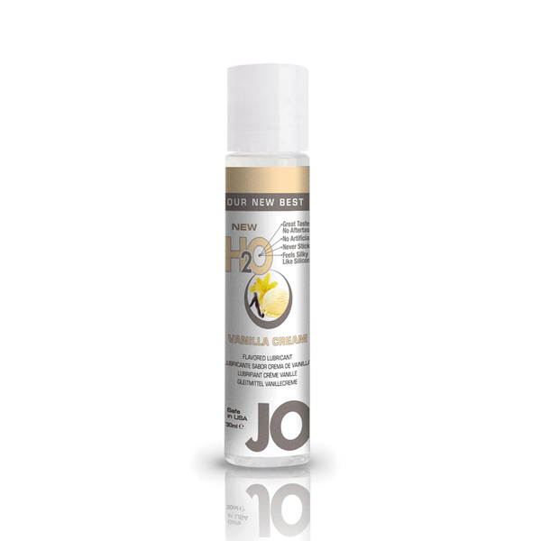System JO Vanilla Cream H2O Water Based Lubricant - Peachy Keen  - 2