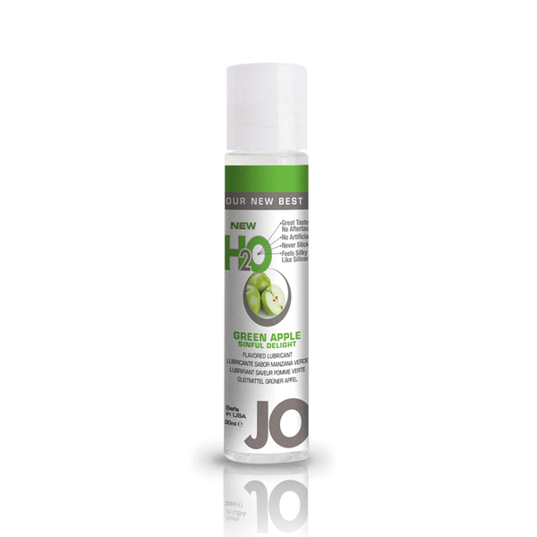 System JO Green Apple H2O Water Based Lubricant - Peachy Keen  - 2