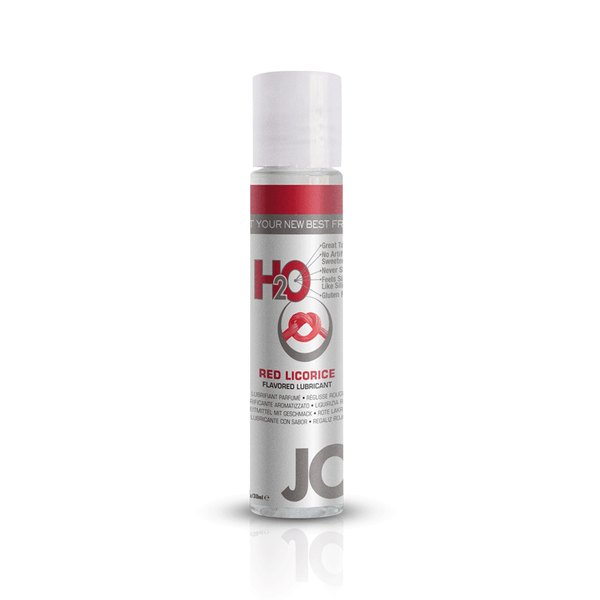 System JO Red Licorice H2O Water Based Lubricant - Peachy Keen  - 2