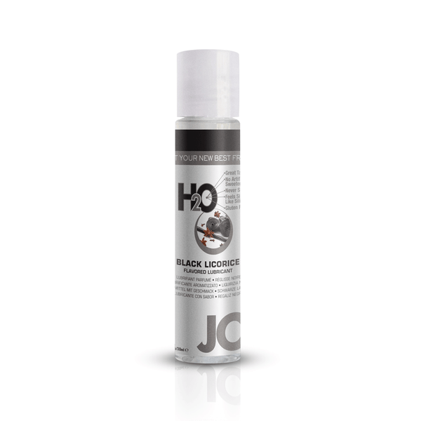 System JO Black Licorice H2O Water Based Lubricant - Peachy Keen  - 2