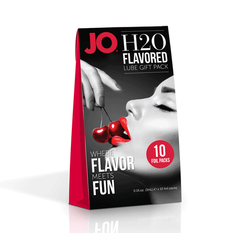 System JO Flavoured Lube Foil Gift Pack - Peachy Keen