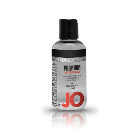 System JO Premium Silicone Warming Lubricant - Peachy Keen
