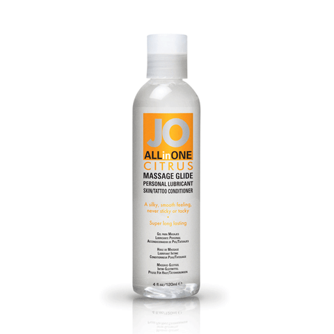 System JO Citrus Massage Oil - Peachy Keen  - 1