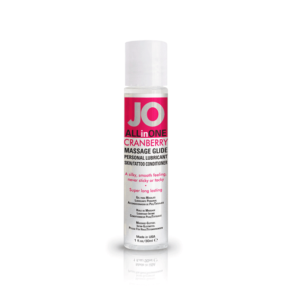 System JO Cranberry Massage Oil - Peachy Keen  - 2