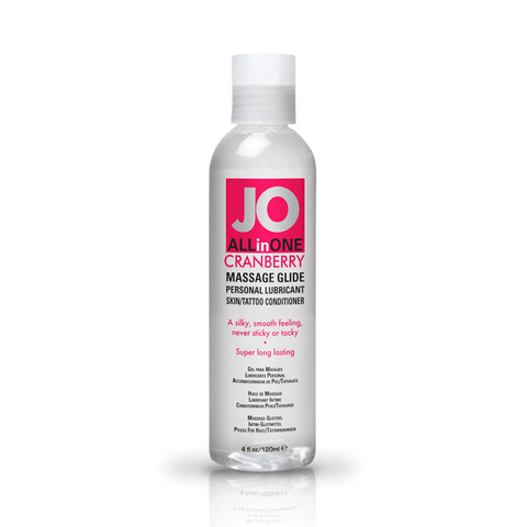 System JO Cranberry Massage Oil - Peachy Keen  - 1
