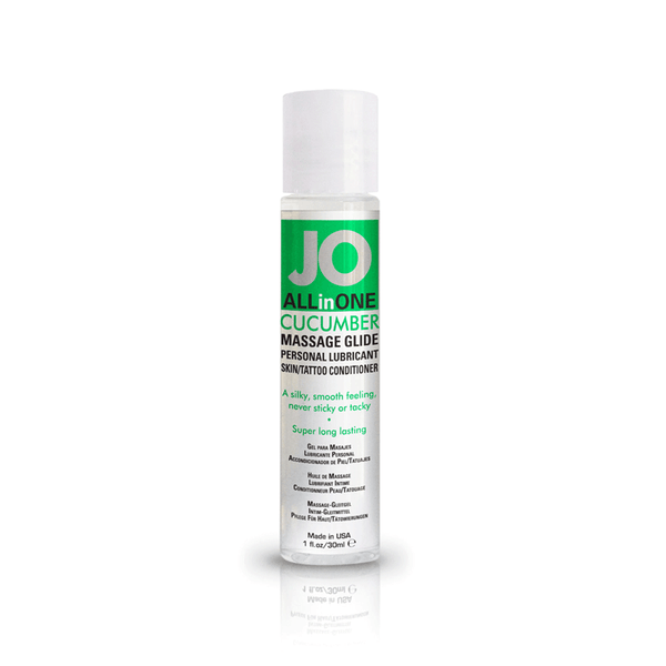System JO Cucumber Massage Oil - Peachy Keen  - 2