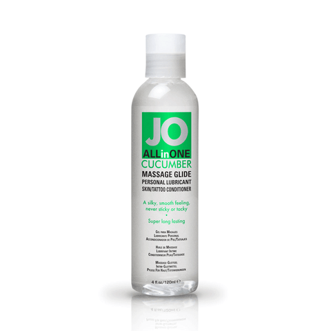 System JO Cucumber Massage Oil - Peachy Keen  - 1