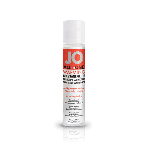 System JO Warming Massage Oil - Peachy Keen  - 2