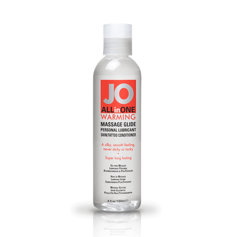 System JO Warming Massage Oil - Peachy Keen  - 1