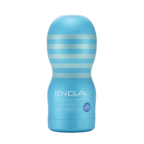 Tenga Deep Throat Cooling Cup - Peachy Keen  - 1