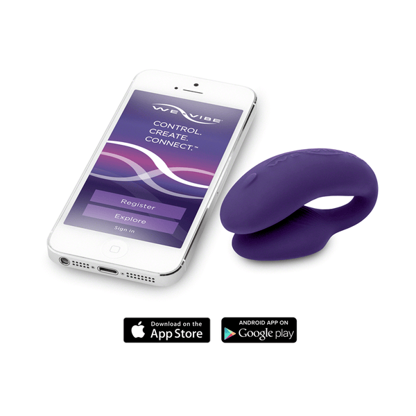We-Vibe 4 Plus Couples Vibrator - Peachy Keen  - 3