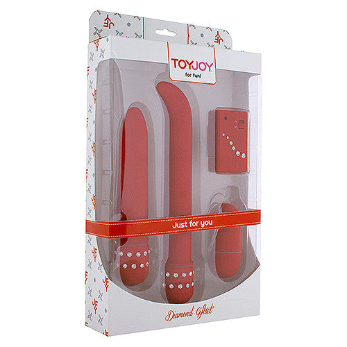 ToyJoy Just for You Diamond Red Gift Set - Peachy Keen  - 2