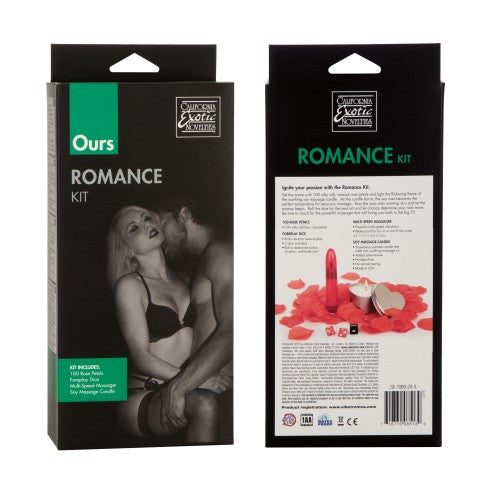California Exotics Ours Romance Kit - Peachy Keen  - 3