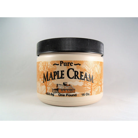 Maple Cream, 1 Lb. | Maple Butter | Creamy Maple Spread