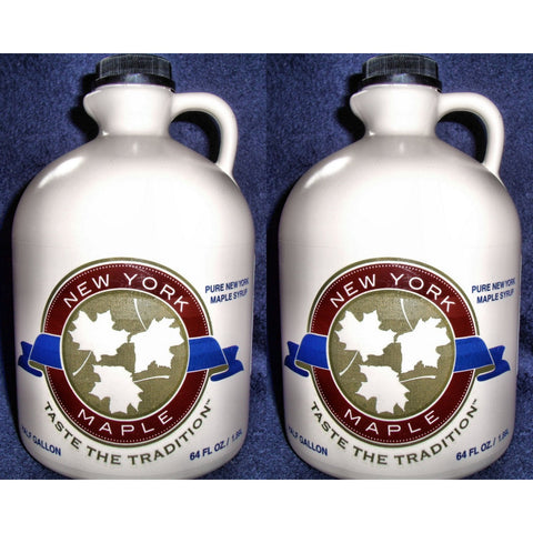 One Gallon - Grade A, Pure New York Maple Syrup - 2020 Season