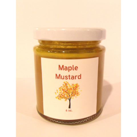 Maple Mustard, 6 oz. - Made with Pure Maple Syrup