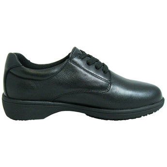 Genuine Grip: 420 Womens Lace Plain Toe Black
