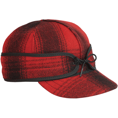 Stormy Kromer: The Original Stormy Kromer Cap Red Plaid