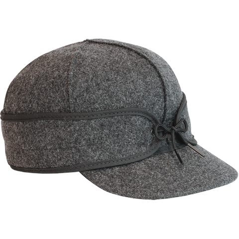 Stormy Kromer: The Original Stormy Kromer Cap Charcoal