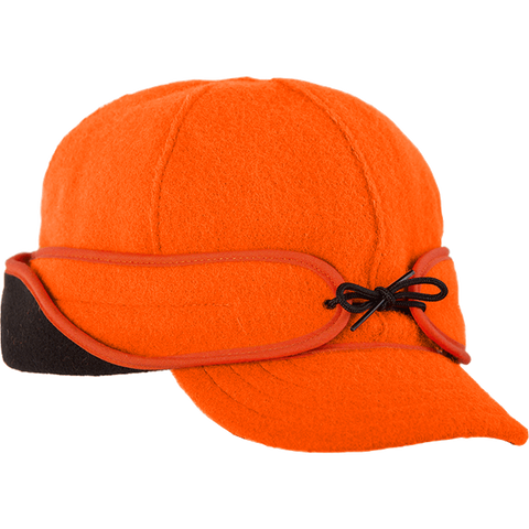 Stormy Kromer: The Rancher Cap Blaze Orange