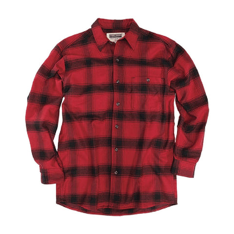 Stormy Kromer: The Flannel Shirt Red/Black