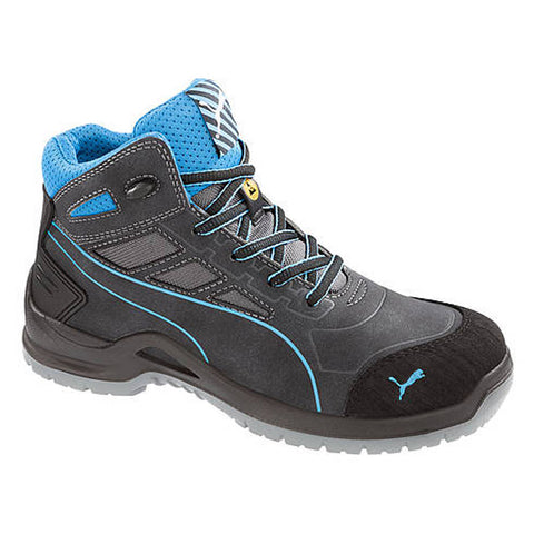 Puma Safety: Womens Beryll Blue Wns Mid SD ASTM ASTM SD 634055
