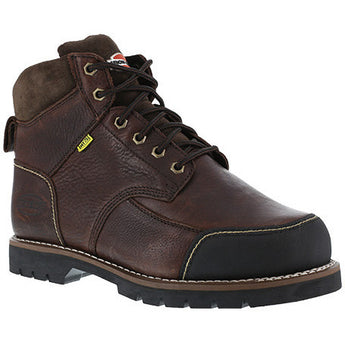"Iron Age: Dozer EH, BROWN 6"" WORK BOOT, INT MET GUARD, STEEL TOE IA0163"