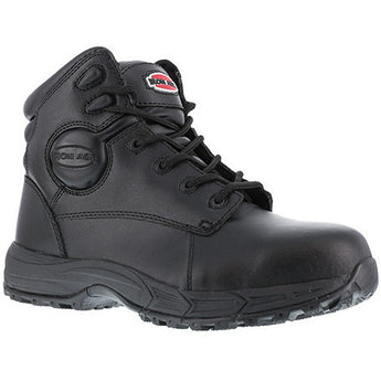 "Iron Age: Ground Finish EH, BLACK 6"" SPORT BOOT, STEEL TOE IA5150"