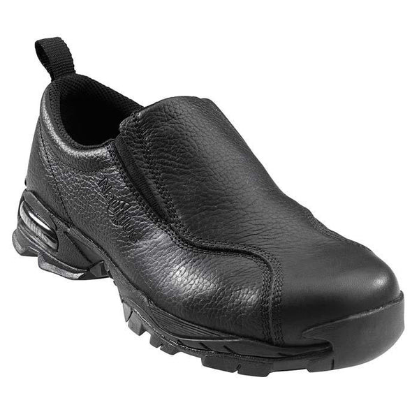 Nautilus Safety Footwear: 1631, Women's Black Steel Toe ESD Slip On
