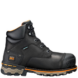 "Men's Timberland PRO® Boondock 6"" Comp Toe Work Boots Black"