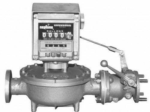 Red Seal Neptune Type S Flowmeter Measurement Control