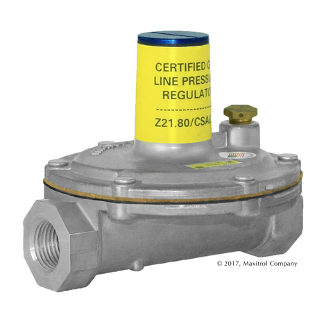 Maxitrol Vent-Limited Line Pressure Regulators  (2 PSIG Systems)