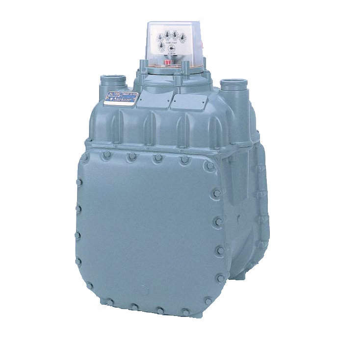 American Meter- Diaphragm Natural Gas Meter AL800