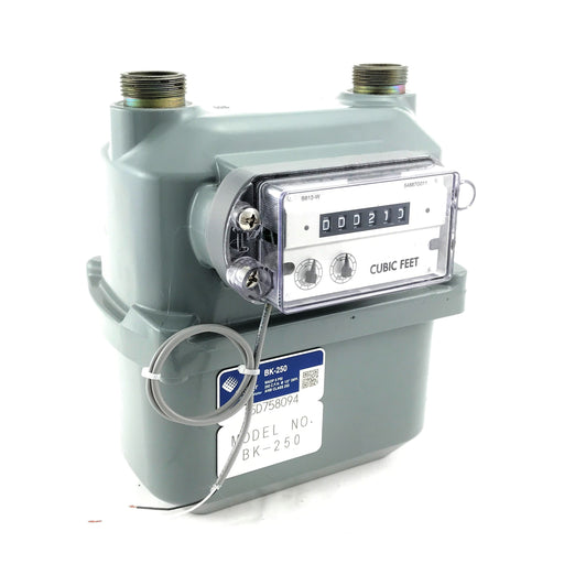 American Meter: BK-250 Gas Meter With Pulser (250,000 BTU/hour)