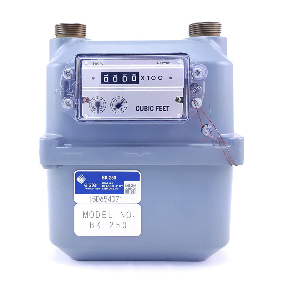 "Brand New! Honeywell American Meter 3/4"" or 1"" Gas Meter: AC-250NX (250,000 BTU/hour)"