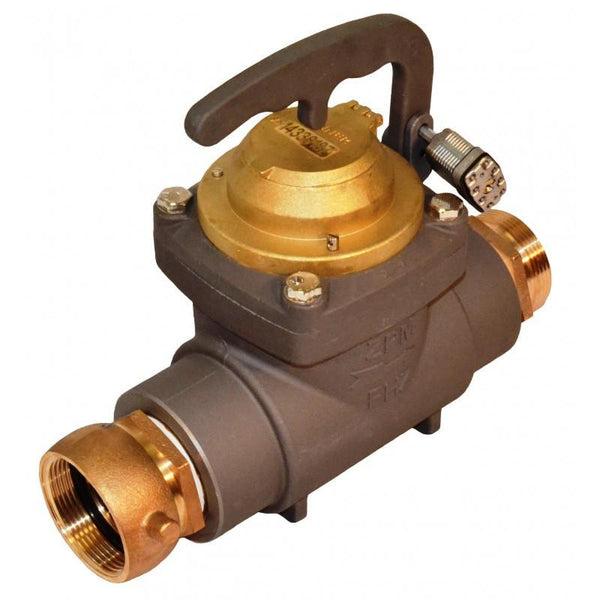 zenner fhz fire hydrant water meter  u2013 measurement control