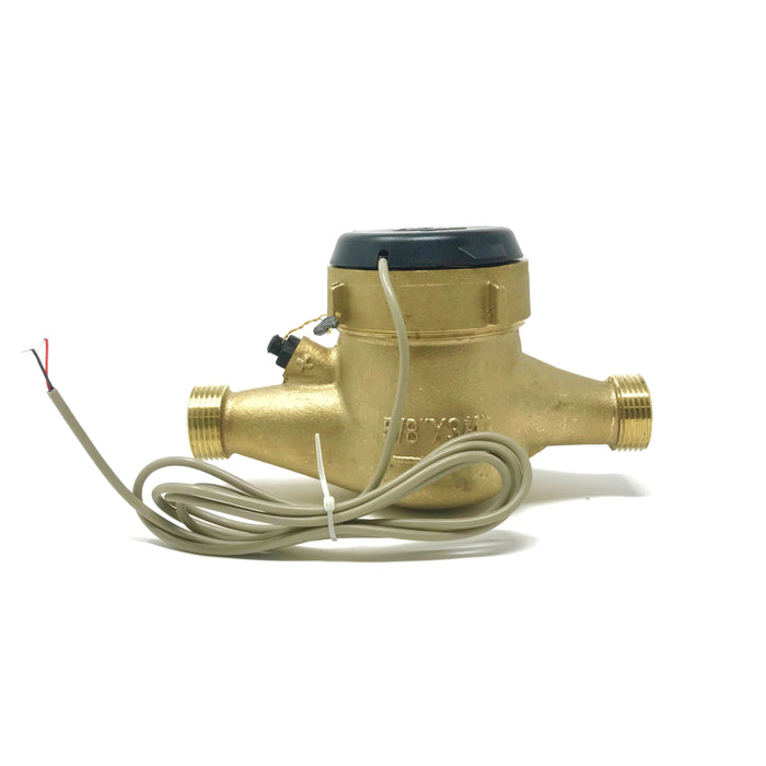 "3/4"" Bronze Multi-Jet Water Meter with Pulse Output"